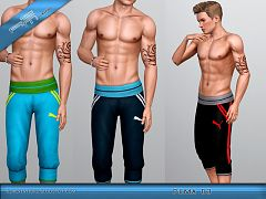 Sims 3 pants, shorts, bottom