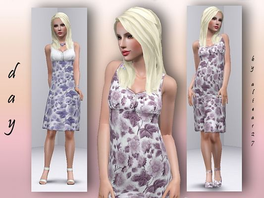 Sims 3 dress, cloth, clothing, outfit