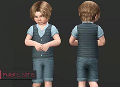 Sims 3 vest, top, clothing