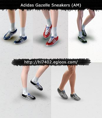 Sims 3 sneakers, shoes, run