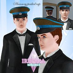 Sims 3 hat, cap, accessories, male, sims3