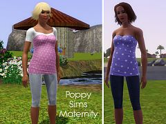 Sims 3 maternity, pants, cloth, clothes, fashion