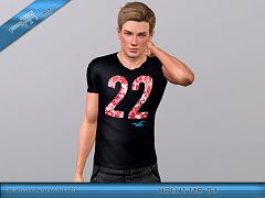 Sims 3 outfit, top, clothing, male, sims3