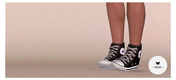 Sims 3 shoes, hightops, sneakers