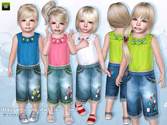 Sims 3 clothing, fashion, toddler, sims3