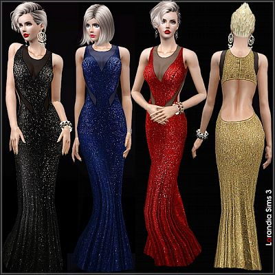 Sims 3 dress, formal, gown, evening, outfit, clothing, fashion