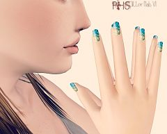 Sims 3 nails, accessories, female, sims3