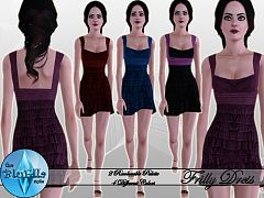 Sims 3 dress, clothing, female, fashion