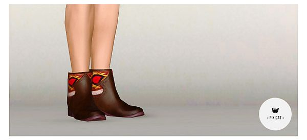 Sims 3 boot, shoes