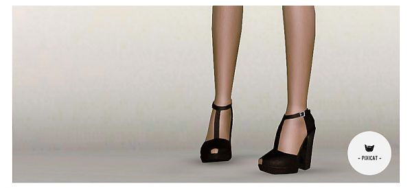 Sims 3 shoes, high heels, female, sims3
