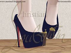 Sims 3 high heels, shoes, pumps, sims3