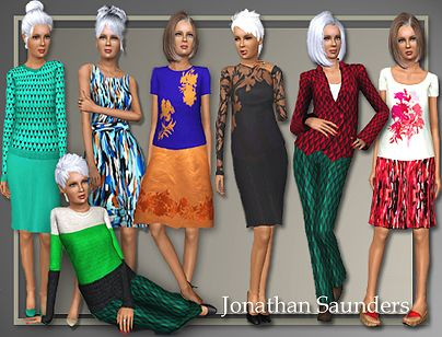 Sims 3 top, clothing, bottom, outfit, fashion, female, sims3