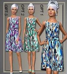 Sims 3 dress, clothing, pants, bottoms, fashion, outfit, female, sims3