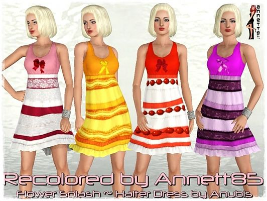 Sims 3 dress, clothing, recolor, outfit, fashion, female