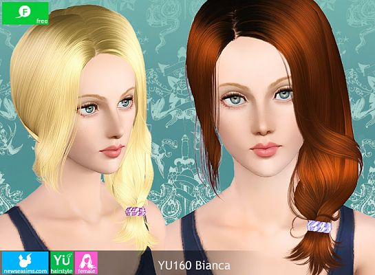 Sims 3 hairstyle, genetics, hair, female