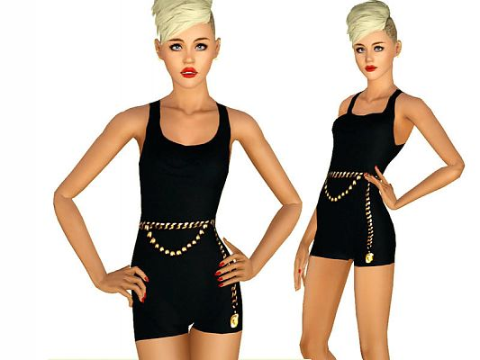 Sims 3 outfit, dress, fashion, clothing