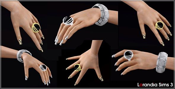 Sims 3 jewelry, ring, accessory, statement