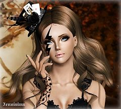 Sims 3 costume makeup, makeup, female, sims3