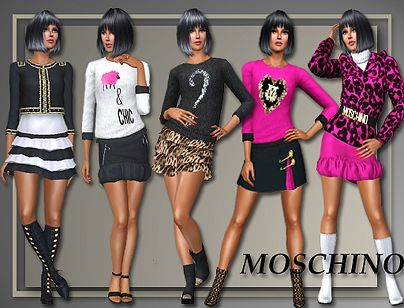Sims 3 top, clothing, female, fashion, designer