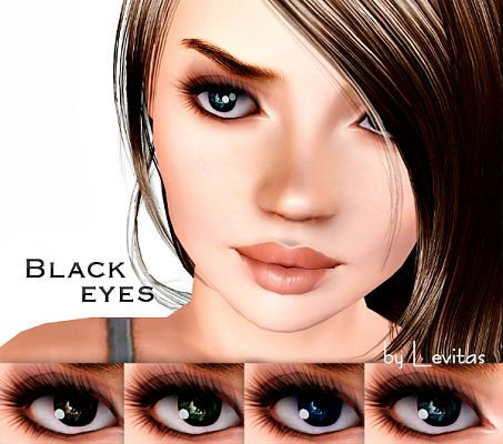 Sims 3 eye, contact lenses