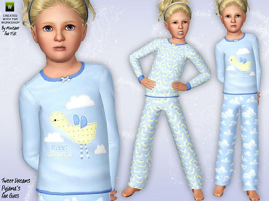 Sims 3 lingerie, sleepwear, outfit, fashion, female