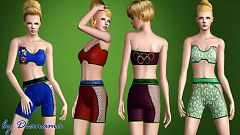 Sims 3 athletic, outfit, clothing, fashion