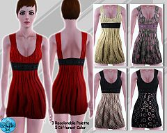 Sims 3 dress, fashion, clothing