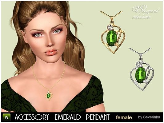 Sims 3 jewelry, accessories, necklace, sims3