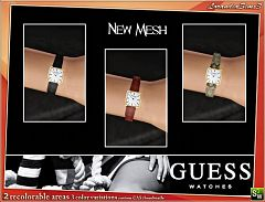 Sims 3 guess, watch, watches, accessories, fashion