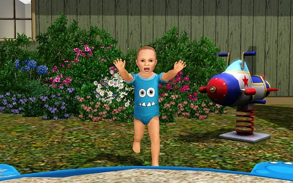 Sims 3 body, toddlers, clothing