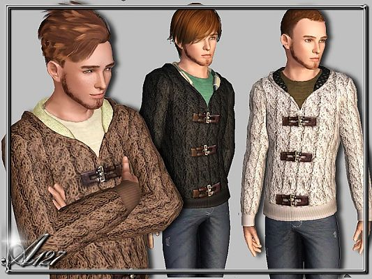 Sims 3 outfit, clothing, male, sims3