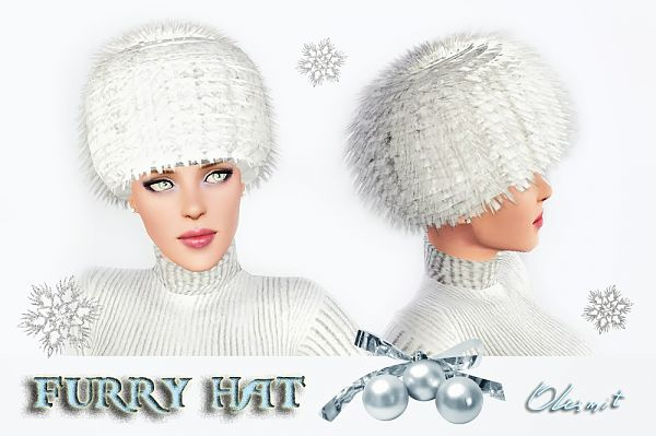 Sims 3 hat, accessories, sims3