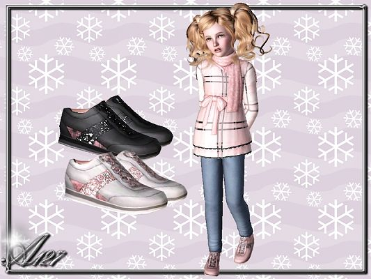 Sims 3 sneakers, shoes, sport