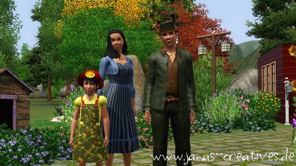Sims 3 sim, sims, model, female, male, family