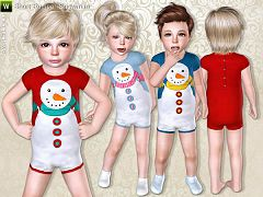 Sims 3 romper, jumpsuit, outfit, overalls