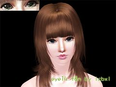 Sims 3 eyes, genetics, male, female
