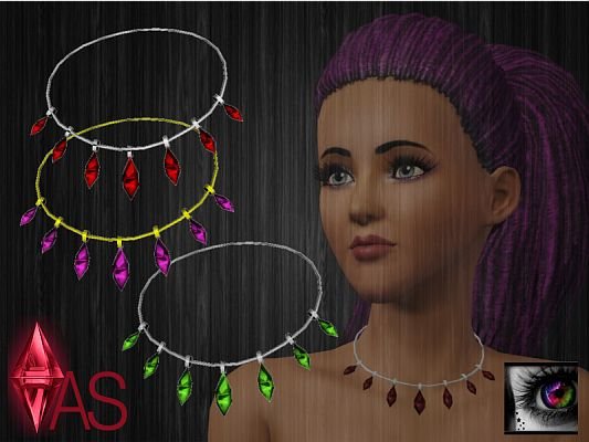 Sims 3 necklace, accessory, jewelry