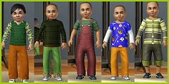 Sims 3 toddler, boy, fashion, clothing, clothes