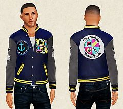 Sims 3 male, jacket, top, clothing, sims3