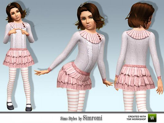 Sims 3 outfit, clothing, fashion, child, sims3