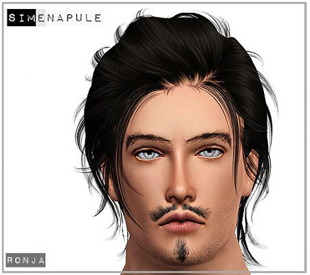 Sims 3 beards, facial hair, genetics