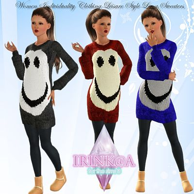 Sims 3 sweater, top, clothing