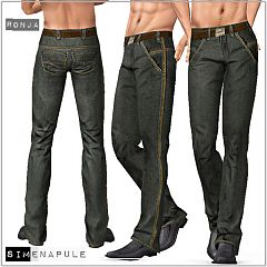 Sims 3 male, pants, clothing, sims3