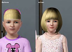 Sims 3 skintone, skin, face, body, replacement, child
