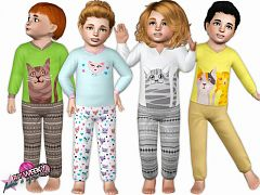 Sims 3 toddler, outfit, clothing, fashion, female, sims3