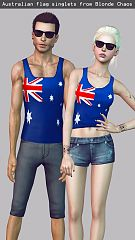 Sims 3 male, female, top, clothing, sims3