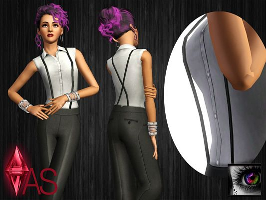 Sims 3 pants, bottom, clothing