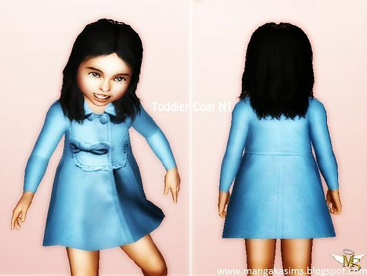 Sims 3 cloth, clothing, outfit, coat