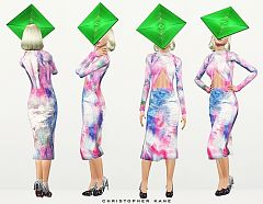 Sims 3 outfit, fashion, clothing, female, dress, shoes, sims3