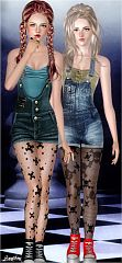 Sims 3 tights, stockings, accessory